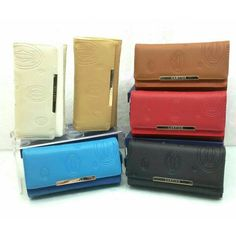 Wallet Cartier 2025 super lipat4 19x10 / black-red-white-blue-apricot-brown