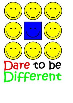 Dare To Be Different Tee. $20 - $30