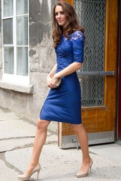 Kate dressed in Canadian designer Erdem for a Sunday service aboard the Canadian frigate HMCS Montreal during the royal tour.
