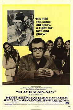 Play It Again, Sam  remains a quintessential Woody Allen film, what with it being populated with neurotic characters, its impish and sardon...