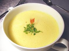 Orangen-Ingwer-Suppe nach J. Lafer
