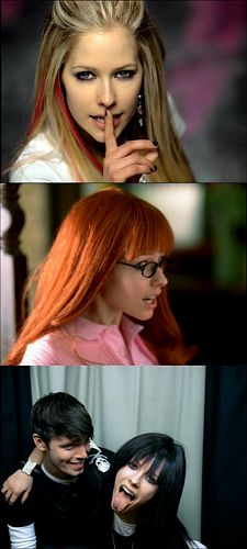 avril lavigne Looks beautiful in every one of the girls she plays. girlfriend was an an amazing music video!