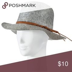 *Worn Once* Merona Fedora Hat *Worn Once* Merona Fedora Hat - Gray. Dress it up or down with a blouse, skinny jeans, and knee high boots or wear with your favorite black dress Merona Accessories Hats