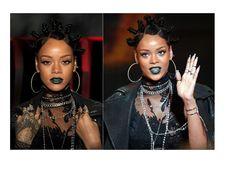 Colori come il verde e blu vanno bene sulle labbra a patto che abbiamo qualche pigmento scintillante. Prendi spunto da Rihanna per una bocca al bacio dai colori spericolati. Un'idea? Prova un rossetto verde smeraldo.