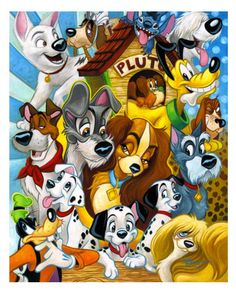Disney Puppy Dogs!