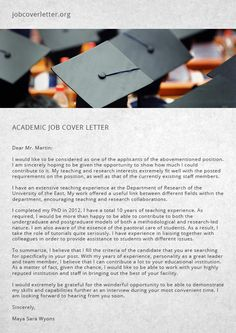 How To Write A Letter Of Interest For A Job Glamorous Day Job Cover Letter  Job Cover Letter  Job Cover Letter .