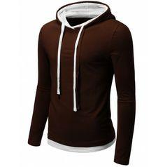 Men's Silket Double Sting Hoodie Shirt (S2H).    #hoodises #menhoodises #mencloth #menclothing #doublju