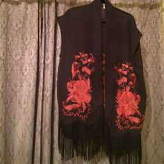 Free people embroidered kimono one size Free people embroidered kimono one size fits all. In excellent pre owned condition Free People Other