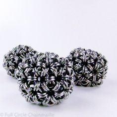 Chainmaille Juggling Balls - Set of Three