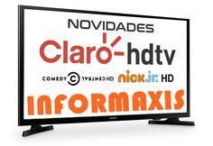 A NET e a Claro HDTV, líderes em conteúdo HD na TV por assinatura, ampliam a oferta de canais em alta definição para seus clientes, soma...