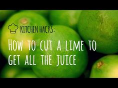 Don't Waste Your Juice! Use This Kitchen Hack for Limes - Paleo Meal Planning