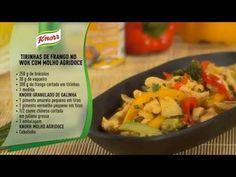 Tirinhas de Frango no Wok com Molho Agridoce - YouTube