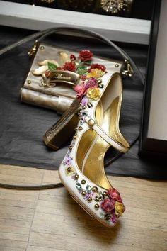 Backstage do Dolce & Gabbana Fall Winter 2015/16
