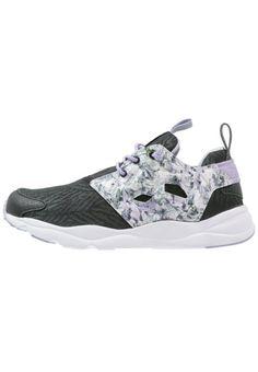 #Reebok #Classic #FURYLITE #SQUAD #Sneaker #low #black/lavender/white/lilac für #Kinder
