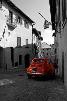 Tuscany Fiat 500 #TuscanyAgriturismoGiratola