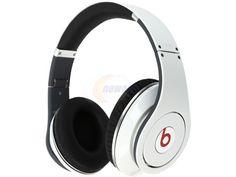 Refurbished: Beats by Dr. Dre White STUDIO 1.0 WHITE 3.5mm Headphone -- $339.99  #headphones