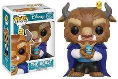 New Funko Pop! Beauty and the Beast figures to be released  in January 2017 from Hot Topic
