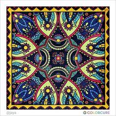#mandalas #mandalacoloringbook #meditation #graffiti #peace #canvas #wallpainting #pattern #colorcure #carpet #painting #sketch #art #artwork #artist #colorful #beautiful #healing #therapy #coloringappforadults #abstract #impressive #만다라 #색칠공부 #색칠놀이