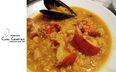Arroz meloso de bogavante de Casa Cesareo en comer en valencia