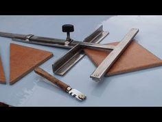Come costruire un attrezzo per tagliare le piastrelle . How to build the tool to cut the tiles . - YouTube