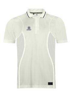 Cricket White Premium Shirt in India, Top Quality Stretchable Cricket Shirt, Buy Premium Cricket Shirt, Cricket White Shirt Short Sleeves