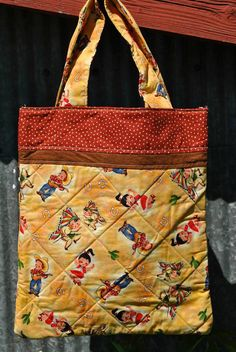 """Retro """"Cowboys and Indians"""" Tote Bag Small Tote Bags, Cowboys And Indians, Polka Dots, Reusable Tote Bags, Trending Outfits, Retro, Unique Jewelry, Handmade Gifts, Pouches"""