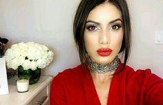 @blogbrunalucena #camilacoelho #red #makenude #maquiagem #makeuptime
