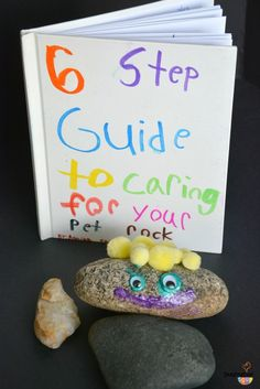 Project: Pet Rock (Craft and Writing Activity for Kids Using Mentor Text)