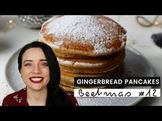 BEETMAS #12 Quick And Easy Christmas Morning Gingerbread Pancakes - YouTube Gingerbread Pancakes, Fluffy Pancakes, Christmas Morning, Simple Christmas, Hamburger, Easy, Youtube, Food, Essen