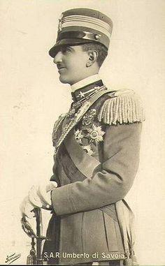 Kronprinz Umberto von Italien, Future King of Italy  #TuscanyAgriturismoGiratola