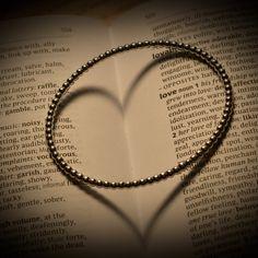 'Silver bracelet ring heart' on Picfair.com