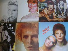 .more David Bowie album covers