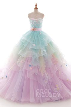 (notitle) - dresses - Best Picture For elegant Dresses For Your Taste You are looking for something, Pretty Prom Dresses, Cute Dresses, Beautiful Dresses, Girls Dresses, Formal Dresses, Elegant Dresses, Colorful Prom Dresses, Flower Girl Dresses, Quince Dresses