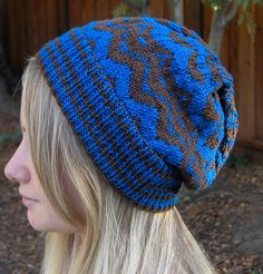 My Missoni-inspired Hat pattern available on ravelry.com or craftsy.com