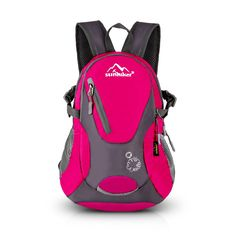 a39bcceb97 Amazon.com   Cycling Hiking Backpack Sunhiker Water Resistant Travel  Backpack Lightweight SMALL Daypack M0714 (Black)   Sports   Outdoors