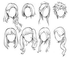 How To Draw Female Anime Hairstyles. You probably already know that How To Draw Female Anime Hairstyles is one of the top topics online today. Based on Anime & Manga Drawing Skills, Drawing Techniques, Drawing Tips, Drawing Ideas, Drawing Pictures, Drawing Templates, Anime Drawing Tutorials, Wie Zeichnet Man Manga, Manga Boy