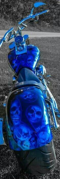 Bike, nice paint
