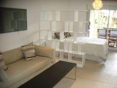 mueble monoambiente Condo Design, Interior Design, Cute Apartment, Studio Apartment, Apartment Ideas, Narrow Rooms, Little Houses, New Room, Decoration