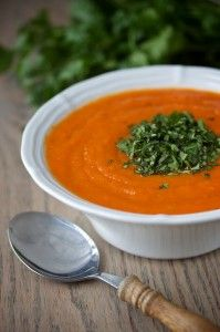 Carrot Cilantro Soup