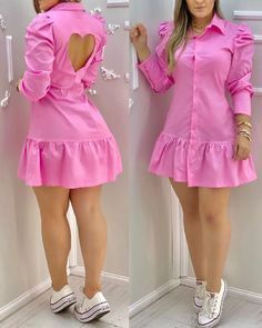 Chic Type, Casual Work Outfits, Stylish Outfits, Trend Fashion, Womens Fashion, Special Dresses, Holiday Outfits, Simple Dresses, Fashion Dresses