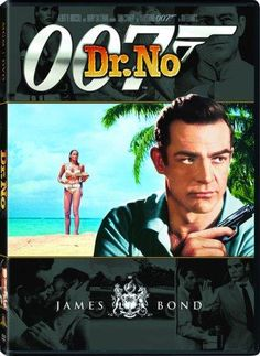 """""""Sean Connery can't play the sophisticated James Bond."""" ~ Producers of the first 007 film, """"Dr. No,"""" 1962 Sean Connery James Bond, Best James Bond Movies, James Bond Movie Posters, Pierce Brosnan, Oscar 2013, 007 Casino Royale, Johnny Rivers, Capas Dvd, Entertainment"""