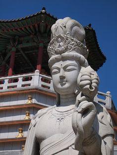 Buddhist Statue-Pagoda-Yeongdong-South Korea