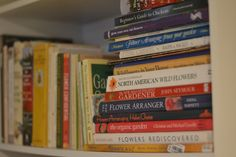 Floret's reading list of top book titles for flower farmers and farmer-florists.