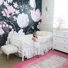 Best of Project Nursery: Black Floral Girl's Room