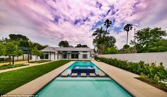 The spread: Meghan Trainor is the proud new owner of Bing Crosby's one-time, stunning home located in Toluca Lake, a wealthy area just outside of Los Angeles proper, according to the Los Angeles Times