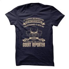 Court Reporter - #zip up hoodies #men t shirts. GET YOURS => https://www.sunfrog.com/No-Category/Cout-Reporter.html?id=60505