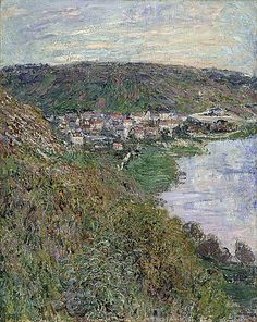 Vétheuil (C Monet - W 603),1880.