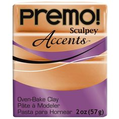 Premo! Sculpey Accents Oven Bake Clay in
