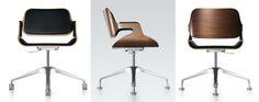 Interstuhl | Silver chair | designed by Hadi Teherani (2006)