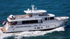Van der Valk launches M/Y Dutch Falcon Big Yachts, Small Yachts, Yacht Design, Boat Design, Explorer Yacht, Expedition Yachts, Cabin Decks, The Wheelhouse, Catamaran
